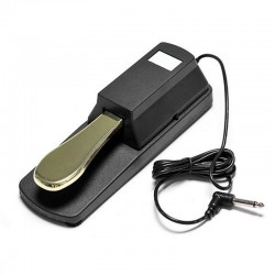 Practical damper - sustain pedal for Yamaha piano & Casio keyboard
