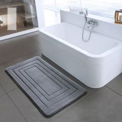 Tapis de bain - tapis antidérapant - mousse à mémoire de forme