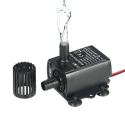 12V Mini brushless submersible water pump - 280L/H