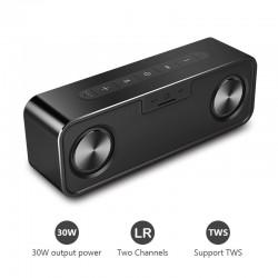 30W metalowy głośnik Bluetooth z super basem - bezprzewodowa kolumna cyfrowa 3D