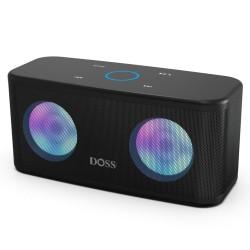 Głośnik Bluetooth TWS 2 * 8W - bezprzewodowy - głęboki bas ze światłem LED