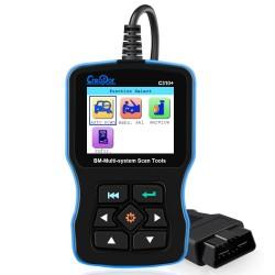 Skaner OBD2 do BMW Airbag / ABS / SRS - narzędzie diagnostyczne - czytnik kodów serwisowych C310 + Pro