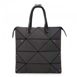 Modna geometryczna świecąca torba - z możliwością zmiany rozmiaru