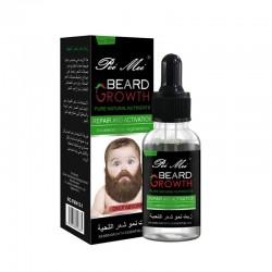 Aceite para el crecimiento de la barba blsamo orgnico para la cera de la barba para evitar la barb