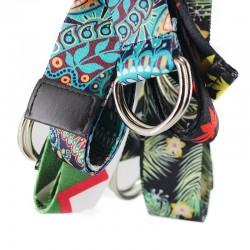 Ethnic style nylon belt - unisex - 135cm