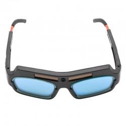 Hot XD-1pc Solar Powered Auto Darkening Welding Mask Helmet Goggles Welder Glasses Arc Anti-shock Le