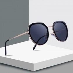 Luksusowe okulary polaryzacyjne - metalowe zauszniki - ochrona UV400