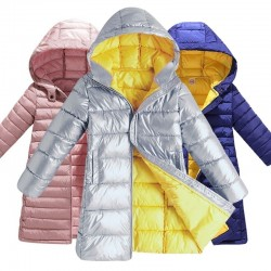 Hot New Girls clothing Baby Coats for Girls Flower Jackets For Spring Autumn Kids Clothes Double-Bre