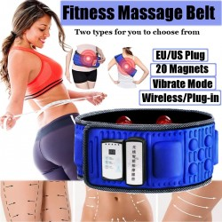 Wireless Electric Slimming Belt Lose Weight Fitness Massage Times Sway Vibration Abdominal Belly Mus
