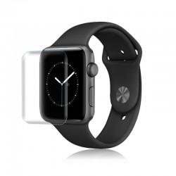 2 Stuks - 3D-schermbeschermer - krasbestendig - zachte hydrogelfilm - voor Apple Watch 38 mm - 42 mm