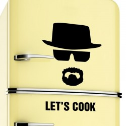 Lets Cook - Breaking Bad - vinyl wall sticker