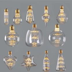 starry sky dimmable led bulb - 3W 2200k E27 220V - wine bottle decorative firework lightbulb