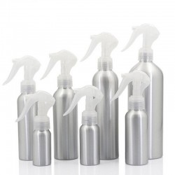 aluminum bottle mice spray bottle - fine mist aluminum refill bottle mouse spray bottles