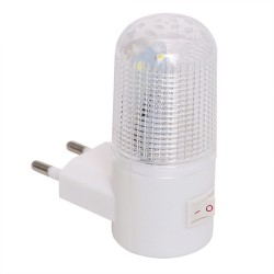 emergency light wall lamp - home lighting - LED night light - EU plug bedside lamp wall mounted energy-efficient 4 leds 3w