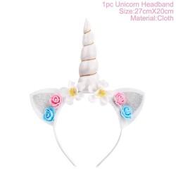 Hair band with a unicorn horn