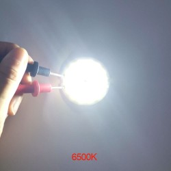 round cob led light - double ring cold white led lamp - cob chip bulb for diy work house decor lights