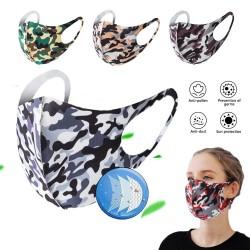 Maschera bocca / viso alla moda - antipolvere - traspirante - lavabile - maschera in spugna