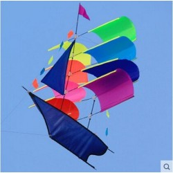 Latający statek piracki - żaglówka - latawiec