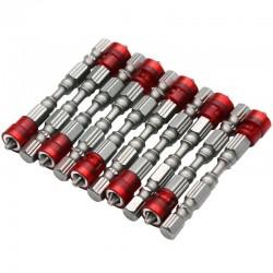 Punte Magnetiche per Cacciavite 65mm PH2 10pcs