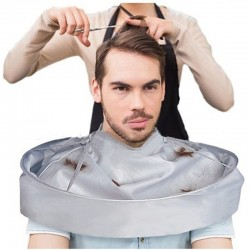 Hair Warp - DIY Hair Cutting CloakSalon Barber Gown Cape Hairdressing