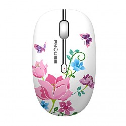 2.4G - 1600DPI - super quiet wireless optical mouse