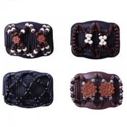 Vintage magiczny grzebień - elastyczny klips - spinka do włosów