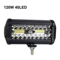 60W - 420W - barre lumineuse LED - projecteurs combo pour camions - tout-terrain - tracteurs - SUV 4x4 - VTT - bateaux