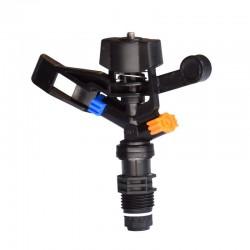 Rotating sprinkler rocker - garden watering nozzle - 1 / 2 connector