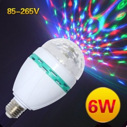 RGB LED Bulbs E27 6W