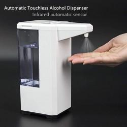 500 ml - automatyczny - bezdotykowy dozownik alkoholu - dezynfekcja rąk