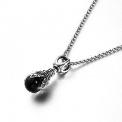 Vintage Dragon Teeth Necklace - Stainless Steel