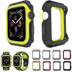 Serie 1/2/3/4/5 - 38mm / 40mm / 42mm / 44mm - Apple Watch - silikonowe etui - pełna ochronna obudowa