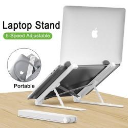 MacBook / Laptop PC Kunststoffständer - Kieselgel - verstellbar und faltbar