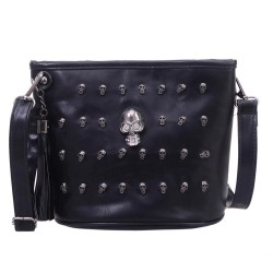 Skull Face Handbag - Women