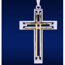 Hollow Cross Necklace
