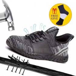 Steel Toe Sneakers - Breathable - Unisex
