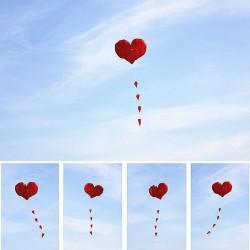 Latawiec nylonowy w kształcie serca