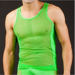 Nylon tank top - men - 5 colours