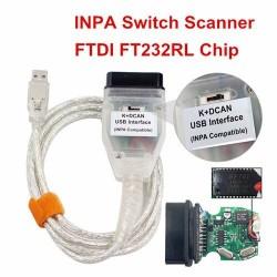 INPA K DCAN scanner - FT232RL - BMW INPA switch