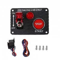 Switch Panel for Racing Car - Carbon Fiber QT313