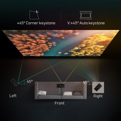 Mobile projector - 150inch - smart home theater - led