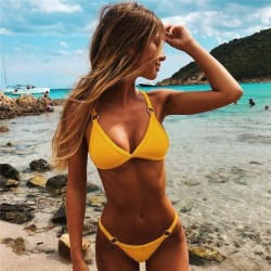 Sexy swimsuits - bikini set - women - two piece