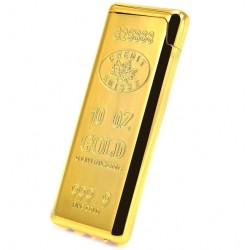 10 Oz Gold Refillable Jet Lighter
