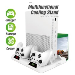Dual controller - charging dock station - xbox one - cooling stand