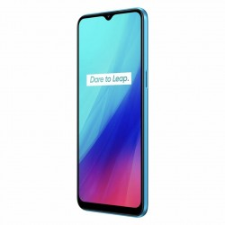Realme C3 Global Version - dual sim - 6.5 inch - 5000mAh - Android 10 - 3GB 64GB - Helio G70 - 4G smartphone - blue
