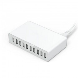 50W - 10 USB port - Smart-charger - Quick charger