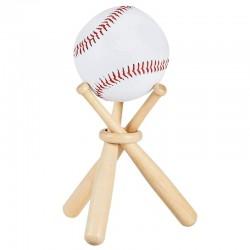 Baseball- / Golf-Tennisball-Ständer - Holzhalter