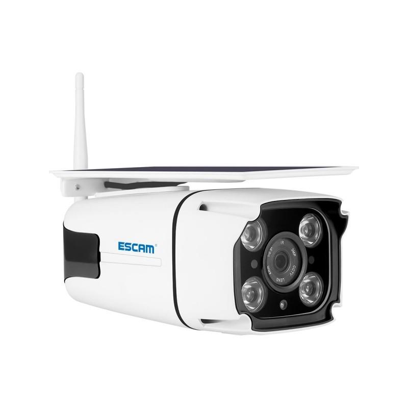 ESCAM QF260 - WiFi - wireless - IP67 - 1080P 2.0MP - solar powered - PIR - security camera