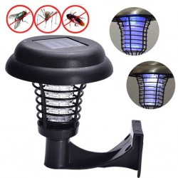 LED - solar powered - anti-mosquito light - outdoor lamp