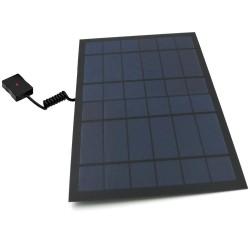 6W - 10W - Power Bank - Solarpanel - USB - Ladegerät